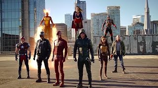 "Supergirl/The Flash/Arrow/Legends of Tomorrow ""Invasion!"" Crossover Recap"