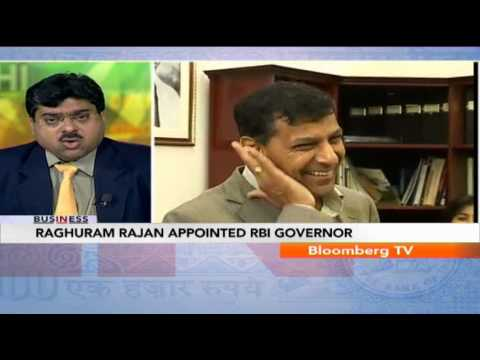 In Business - Raghuram Rajan Appointed RBI Governor