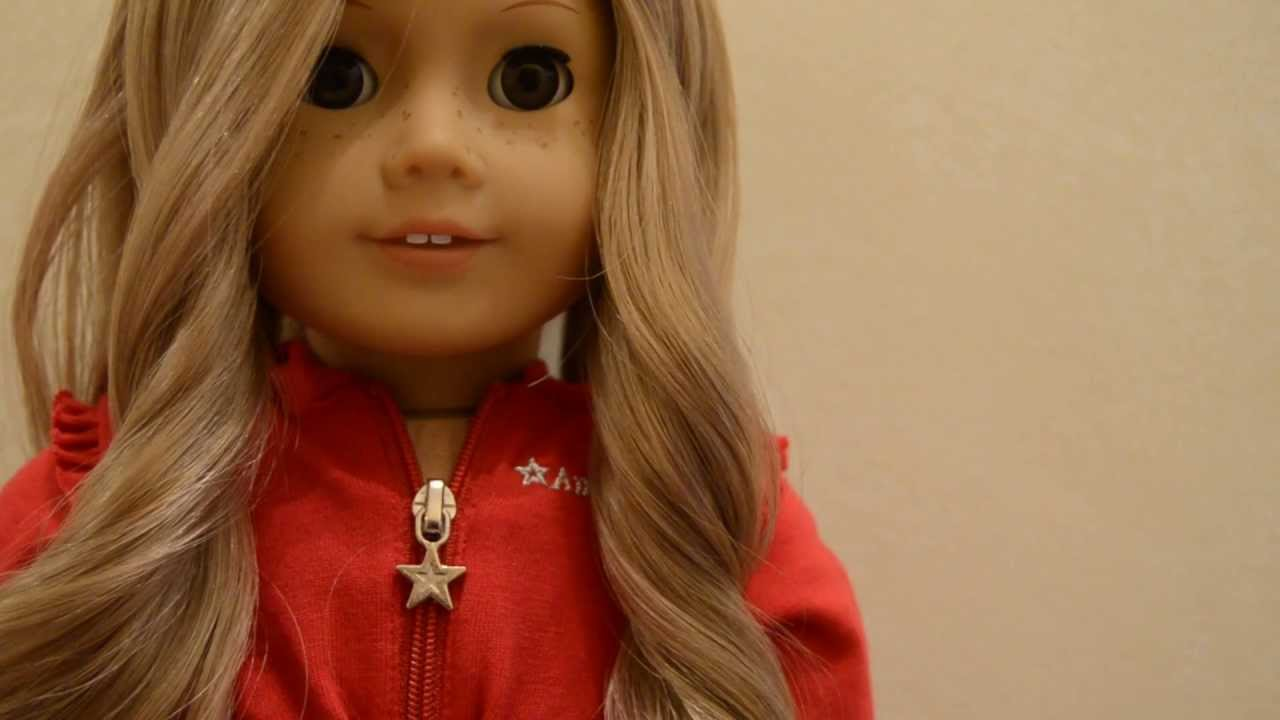 How To Do A French Braided Updo On Your American Girl Doll