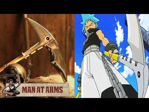 Black Star's Chain Scythe (Soul Eater) - MAN AT ARMS