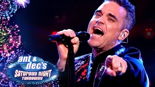 Robbie Williams Performs 'Mixed Signals'