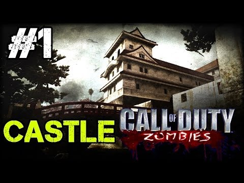 Zombie Castle Ep.1 - Call of Duty Custom Zombies (CoD Zombies) - World at War [PC HD]
