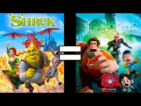 24 Reasons Shrek & Wreck It Ralph Are The Same Movie
