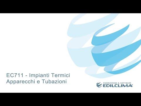 EC711 Impianti termici apparecchi e tubazioni
