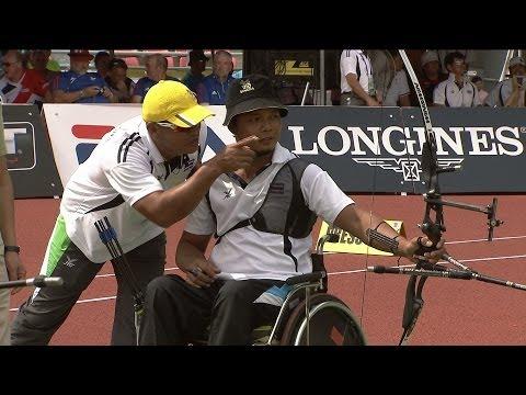 Recurve Men W2 Gold – WA Para Championships 2013 – Bangkok (THA)