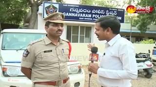 Face To Face With Gannavaram CI Sridhar kumar || Sakshi TV