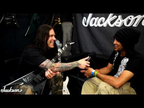 Jackson® at Metal Hammer Golden Gods -- Phil Demmel interviews Fiaz Farrelly on Download