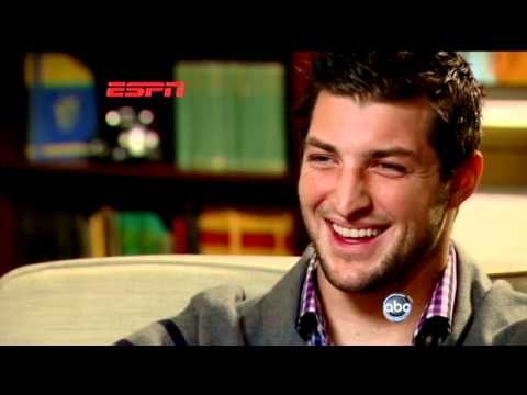 Tim Tebow Discusses 'Tebowing' in Super Bowl Weekend 2012 ESPN Interview