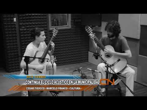 """Dúo Saccone - Rojas en los """"Acústicos en la Muni"""""""