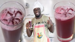 HOW TO MAKE SOBOLO IN A HEALTHY STYLE (Hibiscus /zobo /bissap ) Recipe