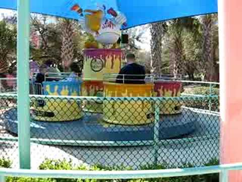 Sea World ride Video