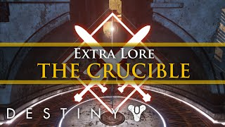 Destiny Lore - The story of the Crucible, Lord Shaxx and the Red Jacks! (Extra Lore)