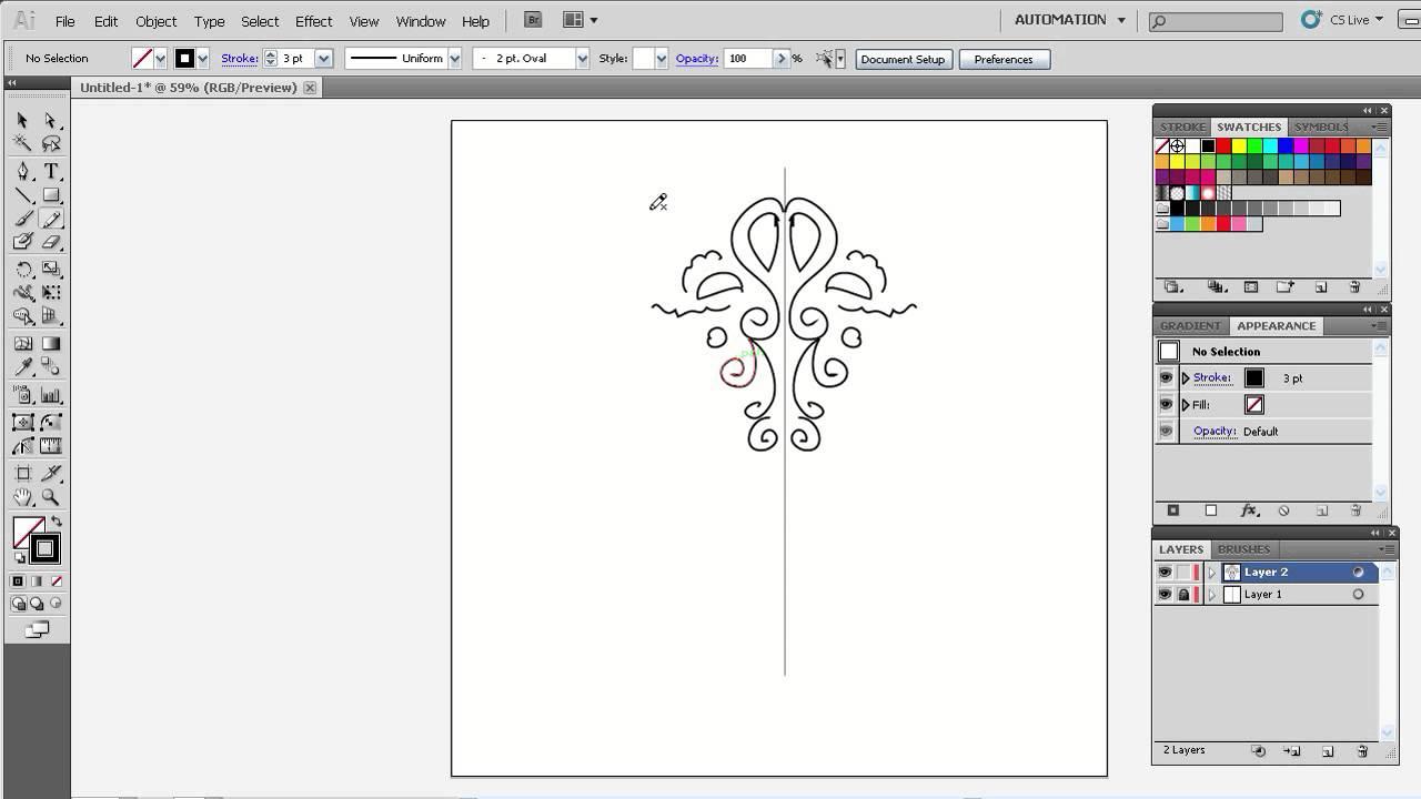 Как нарисовать в иллюстраторе с
