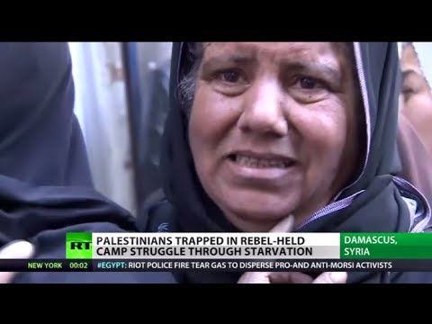 Starving in Syria: Palestinian refugees die in rebel-held camp