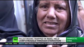 Starving in (Syria) Palestinian refugees die in rebel-held camps   2/1/14