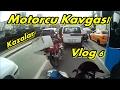 Motosiklet Günlüğü 6 Vlog#6 / Pulsar NS 200/ Motorcu Kavgası/ Trafik Kazaları/ Gapın Açık