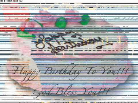 Mariah Carey - Happy birthday song