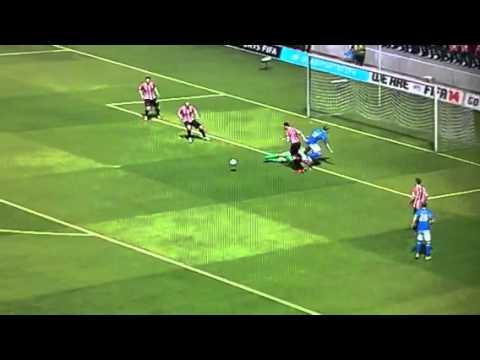 Marc Albrighton goal on FIFA 14
