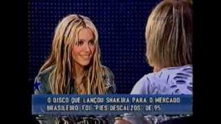 Shakira Video - Shakira de Frente com Gabi 2001 - 1 º Parte   (BRASIL)