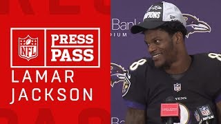 "Lamar Jackson on Making the Playoffs ""We're Fighting for the Championship Now"""