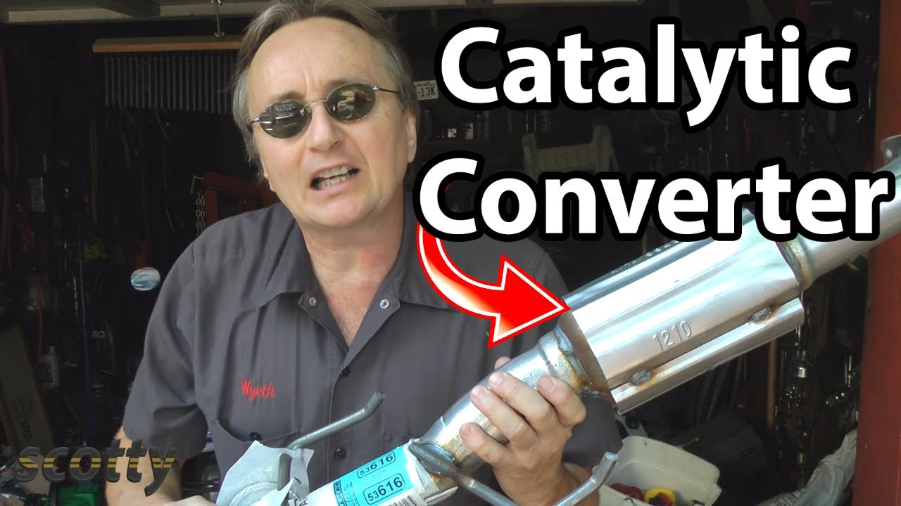 Replacing A Catalytic Converter Youtube