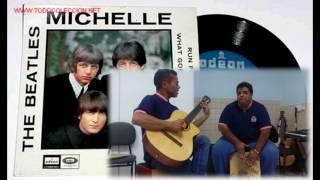 Michelle Beatles Voz Violão e Cajon