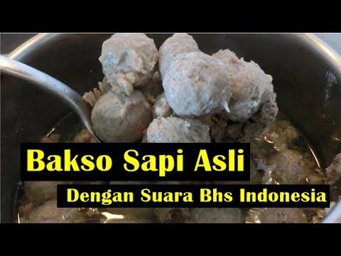Bakso Sapi Asli - Dengan Suara Bhs Indonesia