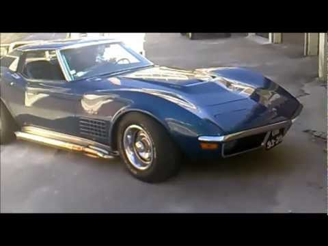 1971 Corvette Stingray 454 - Ride in Portugal, Pvoa de Varzim / A28 - TXR CLASSICS