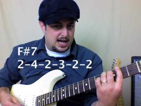 Intermediate to Advanced Guitar Lesson - Blues  Soul R&B Funk Jazz Progression