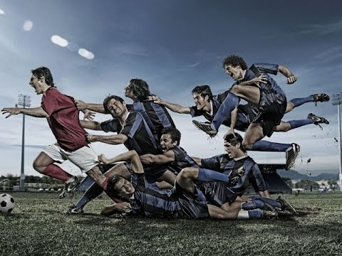 Watch the beautiful pictures of soccer, new in 2014