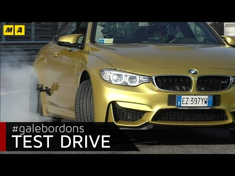 BMW M4  test drive AMboxing