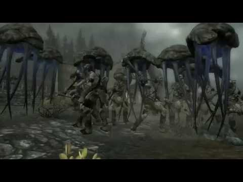 Skyrim Battles - 10 Bull Netches vs 10 Giants [Master Settings]