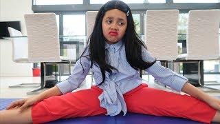 Tiana's Miranda Sings Gymnastics Challenge!