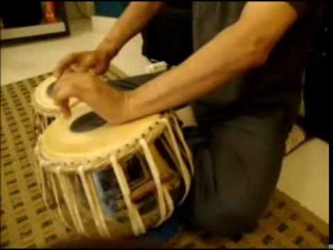 RUK JA RAAT THAHAR JA RE CHANDA -TABLA INSTRUMENTAL BY RAJIV...