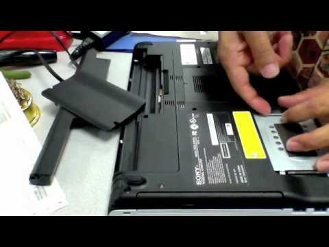 SONY VAIO PCG-61317L how to open