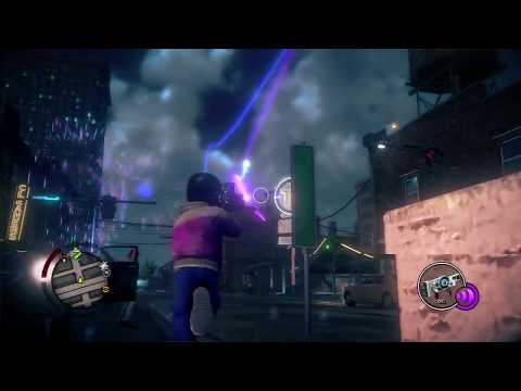 Saints Row IV - Dubstep Gun Gameplay (All Weapon Skins)