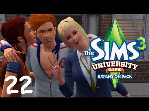Let's Play: The Sims 3 University Life - (Part 22) - How College Students Live