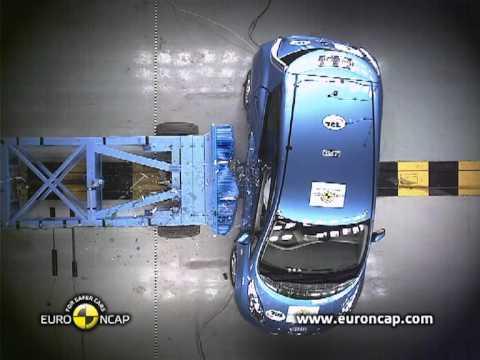 Euro NCAP | Nissan LEAF | 2011 | Краш-тест