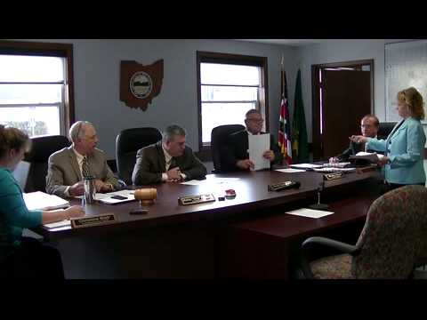 Geauga County Commissioners' Meeting, 8/25/2015