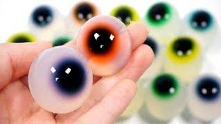 How To Make Colors Eyeball with Jelly - Learn Colors with Wooden toys Fruit Cutting Ice Cream