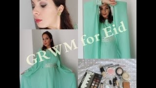 [MAKEUP/OOTD] GET READY WITH ME #19 : ♥ Makeup&Outfit for Eid ♥