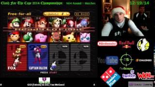 CFTC CE14: Flux (Falcon) vs GG| Fox McGucci (Kirby) (Round 1, N64)