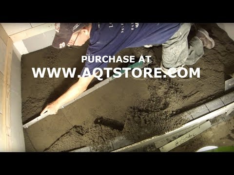 Shower Floor Mud Forming Device VIDEO 4