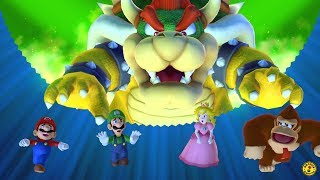Mario Party 10 - Team Bowser Vs. Team Mario - Chaos Castle (5 Players)