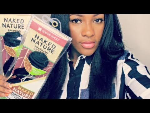 Shake-n-go Brazilian Virgin Remy Hair Naked Nature| Unboxing & 1st Impression | video