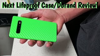 S10+ NEXT Lifeproof Case and Dbrand review!