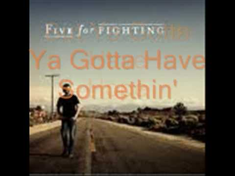 Five For Fighting - Hope