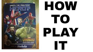 How to play Avengers Infinity War card's