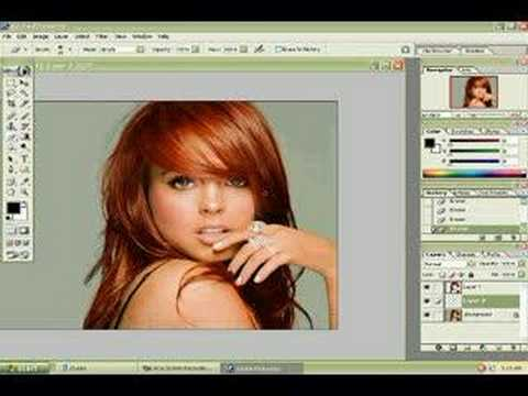 Lindsay Lohan Photoshop MakeOver