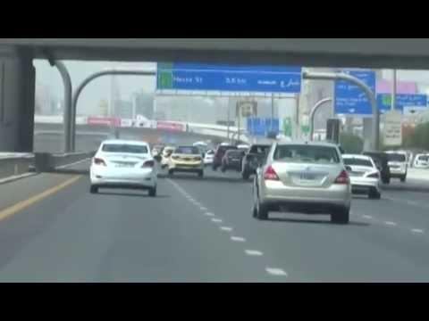 Dubai To Abu Dhabi Road